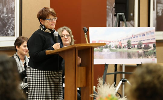 Marshfield Clinic Health System CEO Dr. Susan Turney discusses affiliation and renaming of hospital.