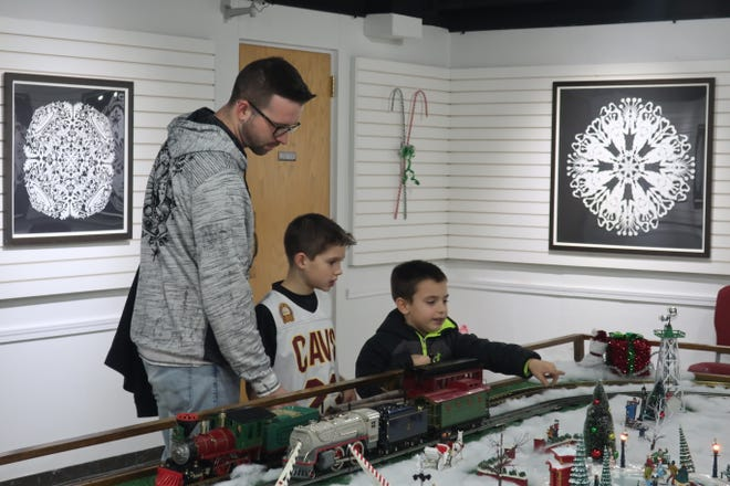 """The """"Hayes Train Special"""" model train display returns on Nov. 29, to the Hayes Presidential Library and Museums ."""