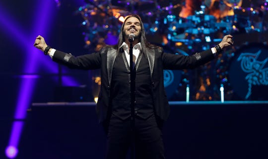 """Trans-Siberian Orchestra kicks off its """"Christmas Eve and Other Stories"""" winter tour on Nov. 13, 2019, at the Resch Center in Ashwaubenon, Wis. Sarah Kloepping/USA TODAY NETWORK-Wis."""