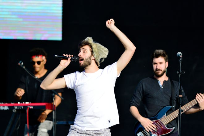AJR performs at this year's LOVELOUD Festival in West Valley City, Utah.