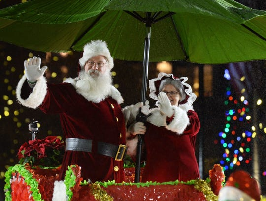 The Greenville Poinsettia Christmas Parade will be held Dec. 7.