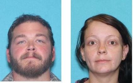 Tony Demontigny, 28, and Ellaura Wright, 30.