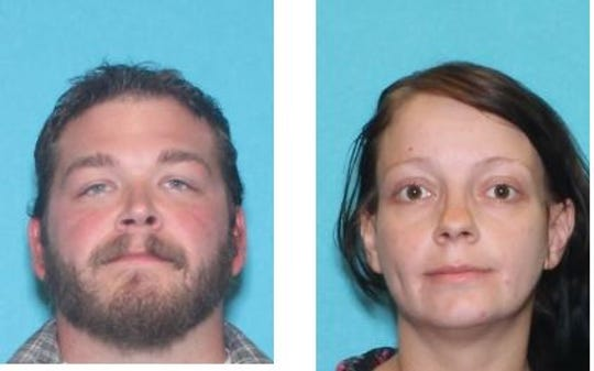 Tony Demontigny, 28, and Ellaura Wright, 30.