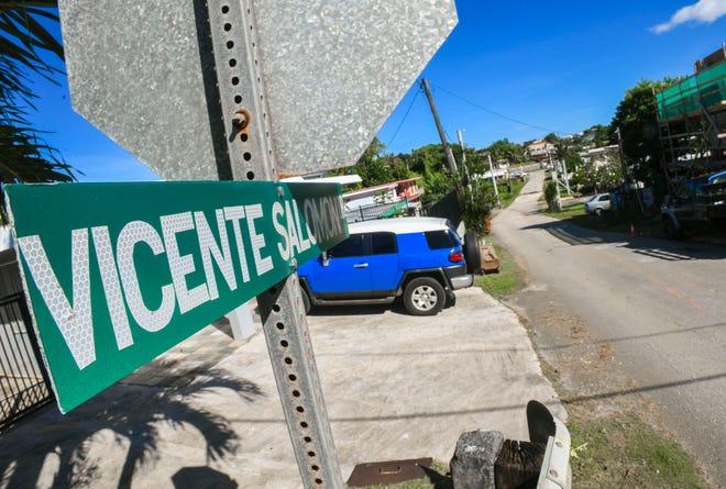 Vicente Salomon Drive in Agana Heights as seen on Thursday, Nov. 14, 2019.