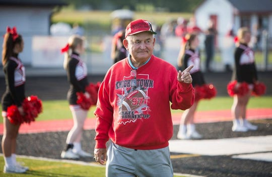 Coach Don Willard was known around Knightstown as a living legend.