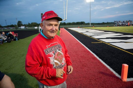 Players say Knightstown football coach Don Willard was a tough coach with a heart of gold.