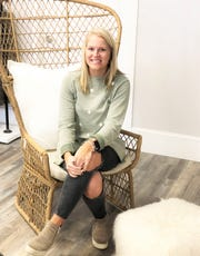 """Kaitlyn Howell started """"Salt & Pepper"""" boutique while she was a student at the University of Tennessee. The boutique is scheduled to open on Nov. 23 with an in-store celebration."""