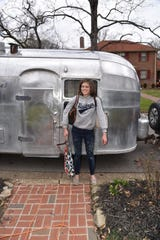 "Knoxville's Hali Ford renovated an Airstream trailer a few years ago, and now it will be a part of the new film ""Ford v Ferrari."""