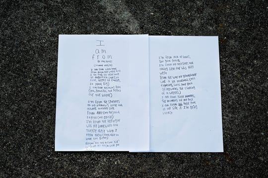 "Gresham Middle Schooler Zach Turner's poem ""I am from"" about his journey with autism."