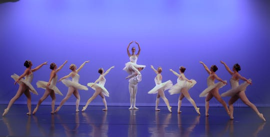"""Ballet Gloria will perform its """"Journey to the Edge of Christmas,"""" including the second act of """"The Nutcracker,"""" on Dec. 21."""