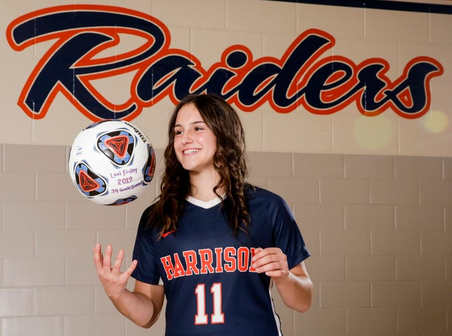 Harrison's Lexi Fraley is the 2019 Journal & Courier Player of the Year for Girls Soccer.