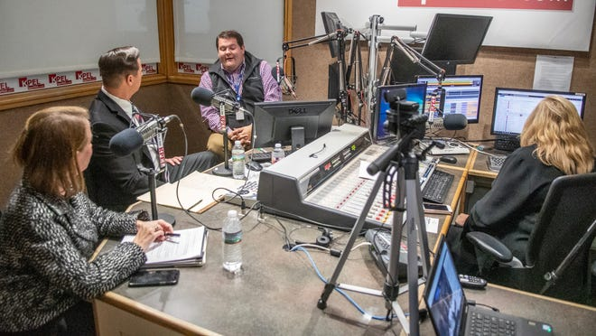 KPEL 96.5 hosts a Lafayette mayor-president debate before Saturday's run-off election Wednesday, Nov. 13, 2019.
