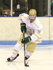 Howell's Stefan Frantti has 16 goals and 42 assists in 54 career games.