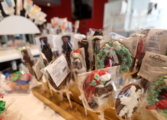 Cellar Door Chocolates offers a wide range of chocolates including barks and bars.