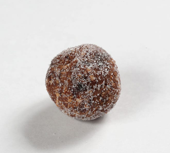 Tipsy Chocolate Cherry Bites, with a hint of chocolate brandy, tied for third place.