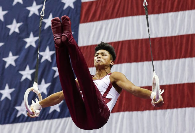 Yul Moldauer won the men's competition at the 2019 American Cup.