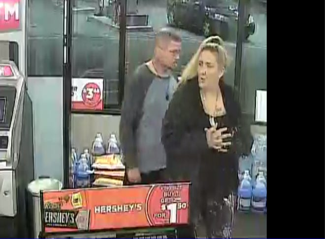 Authorities say this man and woman are suspects in a Nov. 4 armed home invasion in Henry County.