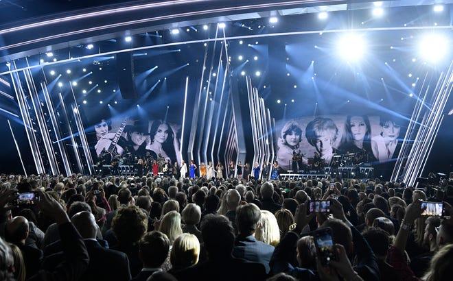A tribute to women opened the 53rd Annual CMA Awards at Bridgestone Arena Wednesday, Nov. 13, 2019 in Nashville, Tenn.