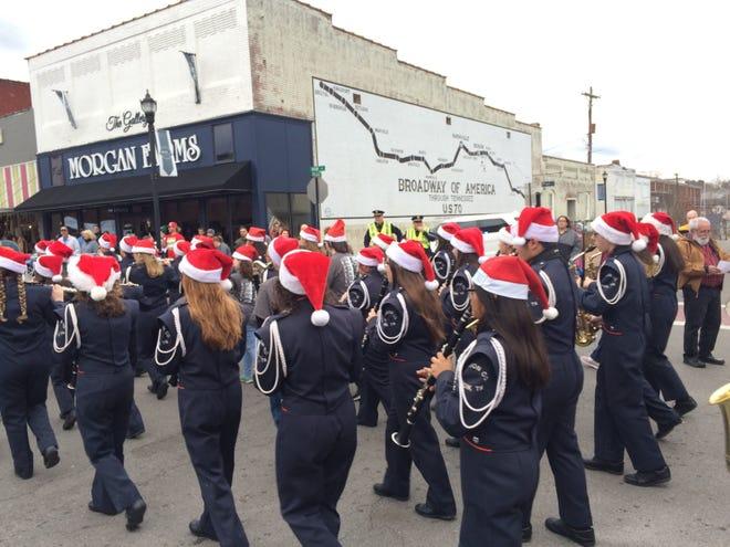 The 2018 Dickson Christmas Parade in Downtown Dickson.