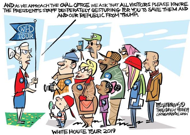 White House tour group.