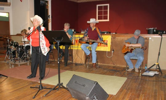 Sunday free jam sessions at historic Morgan Hall, 109 E. Pine St., draw an audience of 50 to 70 Deming Performing Arts Theater members and guests .