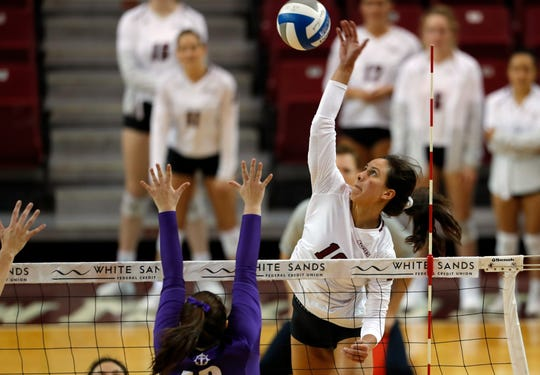 The New Mexico State volleyball team is set to face No. 14-seeded BYU on Friday in Provo, Utah, in the opening round of the NCAA tournament.