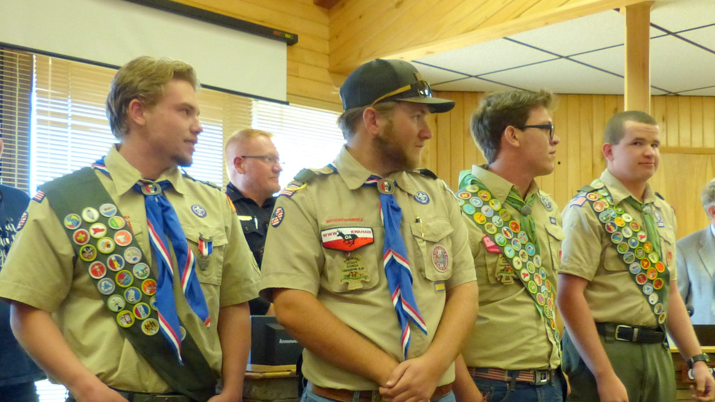 Quartet of Eagle Scouts a huge bragging point for Ruidoso troop