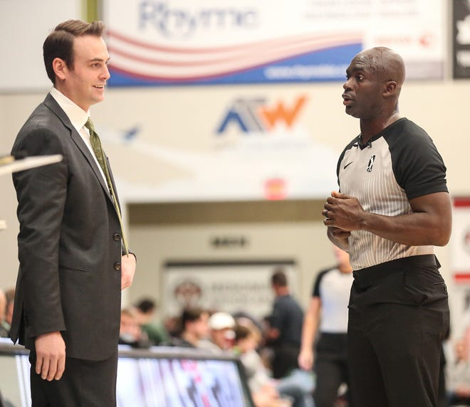 Head coach Chase Buford has the Wisconsin Herd in first place in the G League with a 33-10 record.