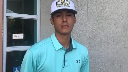 Naun Haro will play baseball for Central Arizona College