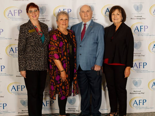 Among the attendees were Angela Allen, honorees and outstanding philanthropists Carol Egan and James Egan and Gailya Brown.