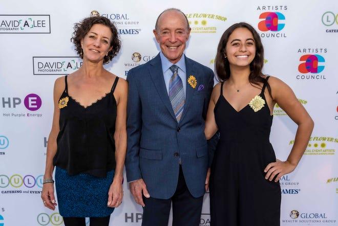 Jerry Keller poses with daughter Lisa Keller (left) and granddaughter Taylor Berger.