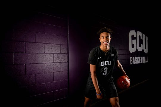 Chance McMillian of Golden State Preparatory Academy signed with Grand Canyon University.