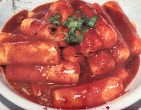 Food vendor Taste of Korea offers ddukbokki, a spicy stir-fried rice cakes.