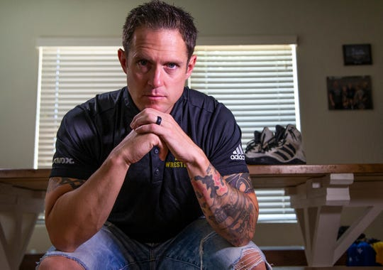 Roman Rozell is a former Green Beret who now is on the wrestling team at Arizona State University.