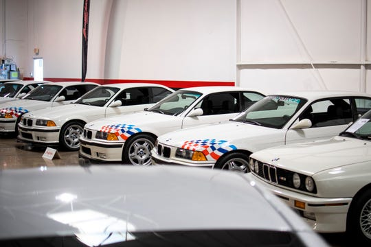 "Rare cars are seen at a sneak preview of the late ""Fast and Furious"" star Paul Walker's car collection at Barrett-Jackson in Scottsdale on Thursday, Nov. 14, 2019. The 21-car collection will be auctioned off at Barrett-Jackson in January 2020."