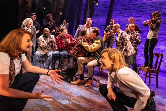 'Come From Away' tells an exuberant story of generosity and community in the shadow of 9/11.
