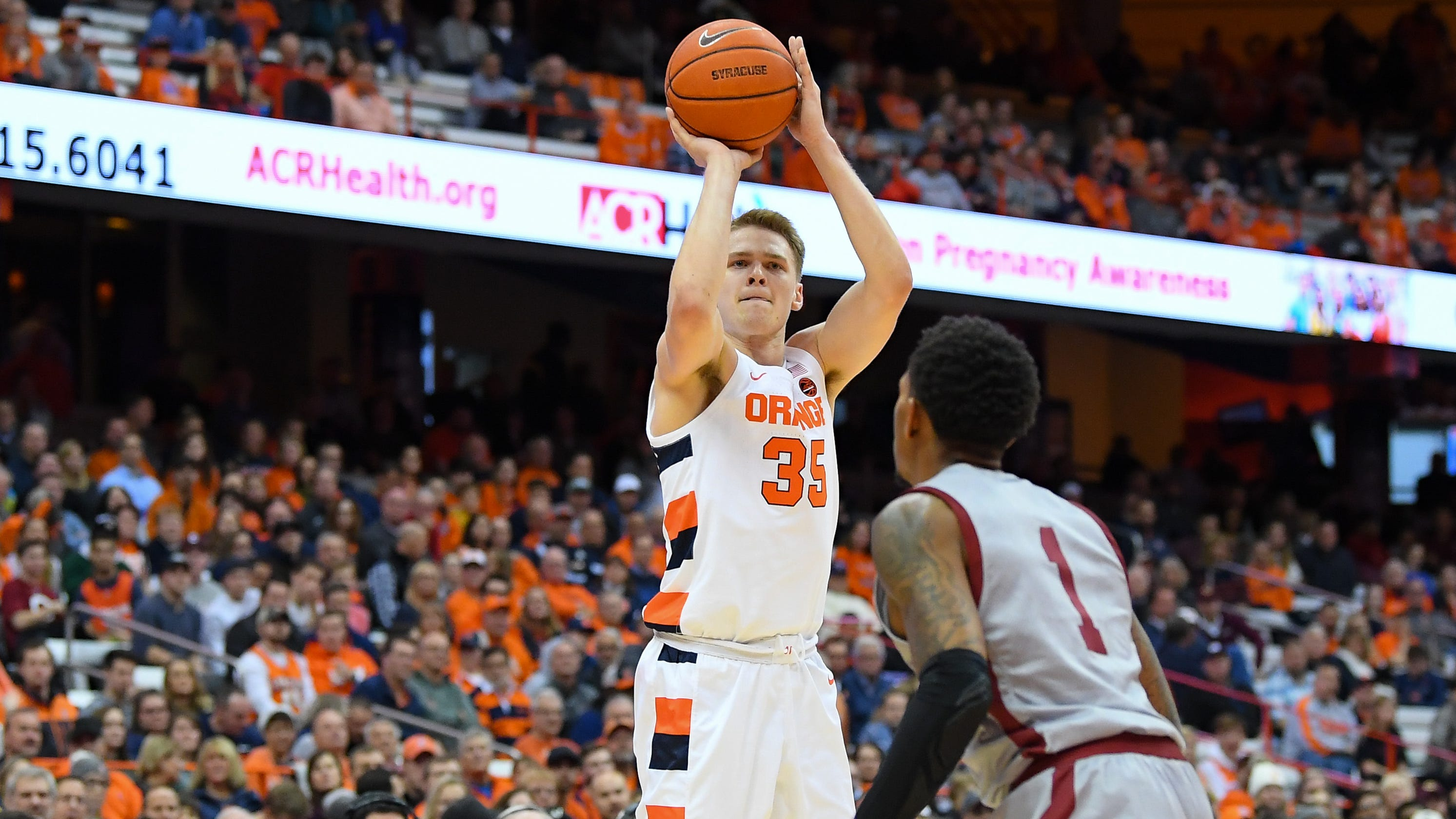 Syracuse Basketball Defeats Colgate For First Win Of Season