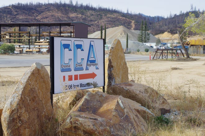 Crystal Creek Aggregate wants to expand its quarry west of Redding.