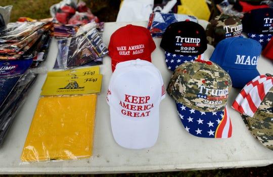 People waiting for the President Donald J. TrumpÕs Keep America Great Rally in Bossier City, Louisiana Thursday, Nov. 14, 2019.