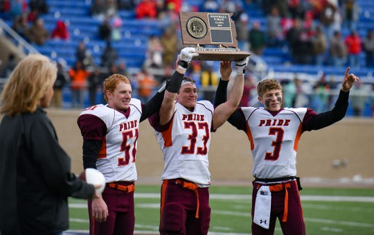 Canistota-Freeman wins the the Class 9A state football finals on Thursday, Nov. 14, at the Dana J. Dykehouse Stadium in Brookings.