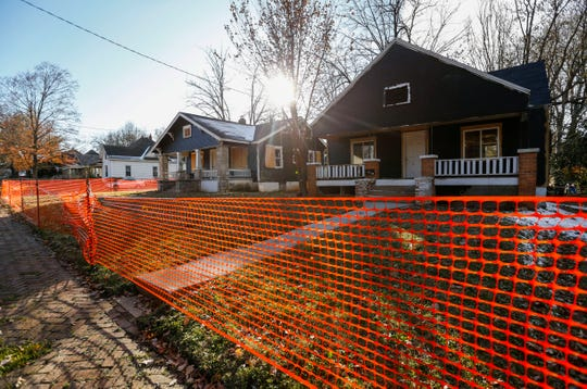 Two homes in the 2100 block of North Main Avenue that sat abandoned for years are now being refurbished.