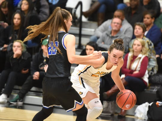 After a freshman year where she earned rookie-of-the-year honors and a strong start to her sophomore year, Mary Baldwin's Leah Calhoun will be out for the rest of the season because of an injury.