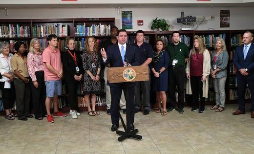 Gov. DeSantis sets plan for high school seniors to take civics exam