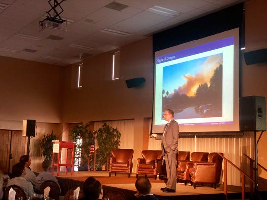 Matthew Fienup, Executive Director of CLU's Center for Economic Research and Forecasting, discusses the impact of fires on the county's economy.