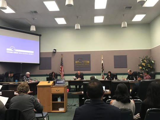 The Oxnard Union High School District board agreed to the name of a new school on Wednesday.
