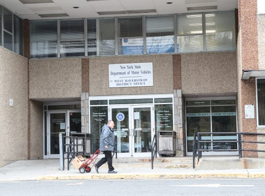 New York State Department of Motor Vehicles West Haverstraw District Office in the Samsondale Professional Building photographed on Thursday, November 14, 2019.
