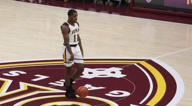 Iona and Ohio in college basketball action at the newly renovated Hynes Center at Iona College in New Rochelle Nov. 11, 2019.