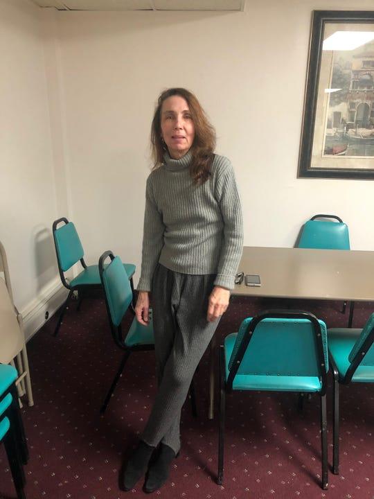 "Marilyn Piscitelli, the Suffern seamstress who designed curtains for ""The Irishman."""