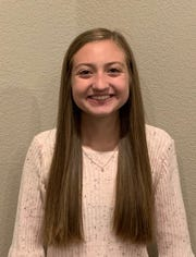 Meghan Nolan, Burkburnett High School junior, was honored by the Sunrise Optimist Club as the Young Tex-Anne for October 2019.