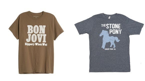 Reviewed New Jersey 2019 gift guide: Bon Jovi / The Stone Pony t shirts